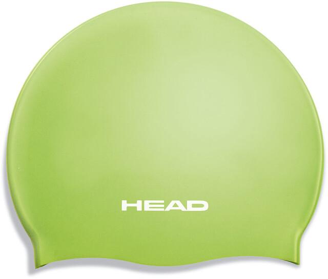 Head Silicone Flat Jr Cap Lime